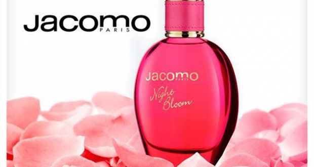 25 parfums Jacomo Night Bloom Eau de Parfum 50ml offerts