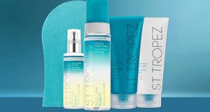 4 lots de 5 produits de soins autobronzants St. Tropez offerts