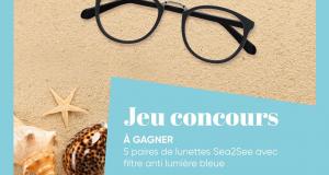 5 paires de lunettes Sea2see offertes