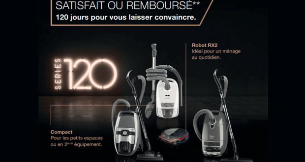Aspirateur Traîneau ou Robot RX2 100% Remboursé