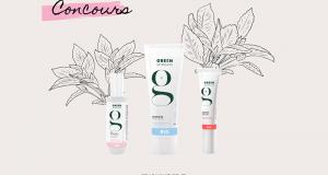 Box de 3 produits de soins bio Green Skincare offerte