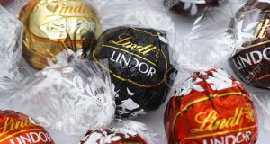 Distribution gratuite de chocolat Lindt