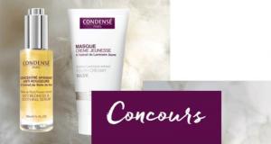 Lot de 2 produits cosmétiques Condensé Paris offert