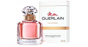 Miniature de l'eau de parfum Mon Guerlain offerte sur simple visite