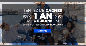 Un an de jeans Bonobo offert