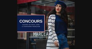 Un total look signé La Marinière Française offert