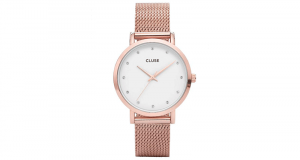 Une montre Cluse Pavane Rose Gold Stones offerte