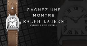 Une montre Ralph Lauren Stirrup offerte (Valeur de 1990€)