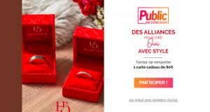 10 cartes cadeau Bijouterie Histoire d'Or de 80 euros offertes