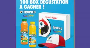 100 box dégustation Tropico offertes