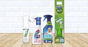 100 kits de nettoyage Swiffer - Mr. Propre - Febreze et Antikal