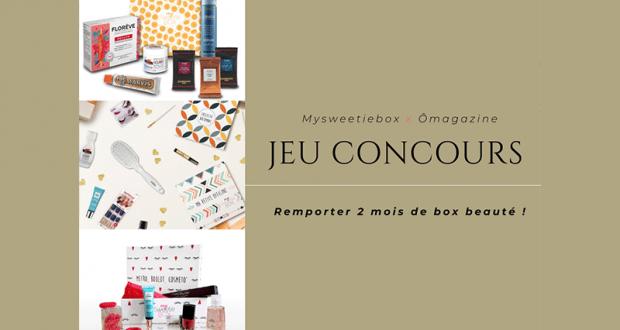 3 box beauté MySweetieBox offertes
