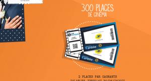 300 places de cinéma offertes