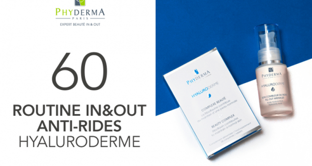 60 Routine In&Out anti-rides Hyaluroderme de Phyderma à tester
