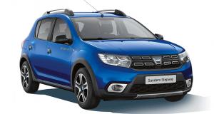 7 voitures modèle Dacia Sandero offertes