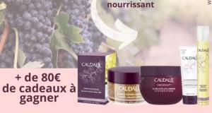 Routine de 5 produits de beauté Caudalie offerte