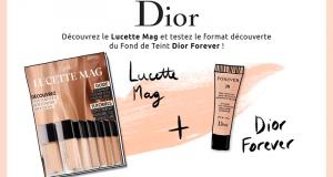 Testez le Fond de Teint FOREVER de Dior + Magazine Lucette