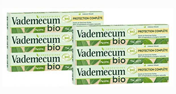 100 Dentifrice Vademecum Bio Protection Complète à tester