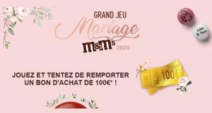 13 bons d'achat M&M's de 100 euros offerts