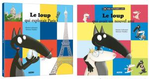 20 livres papier Le Loup qui explorait Paris offerts