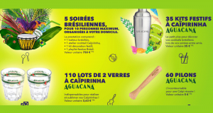210 lots Aguacana offerts