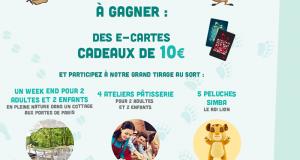 250 cartes cadeaux Carrefour de 10€ offertes