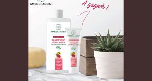 3 lots de produits capillaires Amber & Aubin offerts