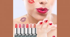 3 rouges à lèvres offerts