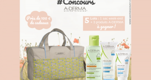 5 lots offerts 1 Sac week-end + 3 produits A-derma