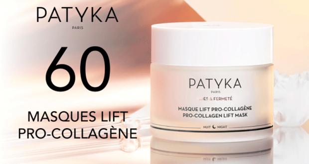 60 Masque Lift Pro-Collagène de PATYKA à tester
