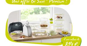 9 kits de mise sous vide Be Save offerts