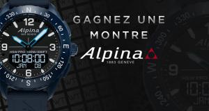 Une montre Alpina Alpinerx offerte (845€)
