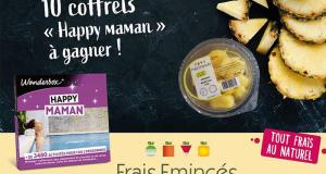 10 coffrets Wonderbox Happy maman offerts