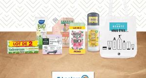10 lots de 6 produits d'hygiène et de soin offerts avec 1 tote bag