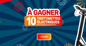 10 trottinettes électriques offertes