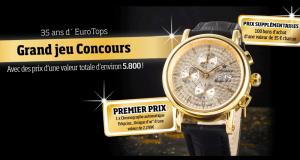 100 bons d'achat EUROtops de 35€ offerts