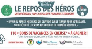 110 bons de vacances en Creuse offerts