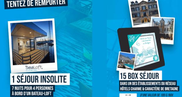 15 box voyages pour 2 personnes offertes