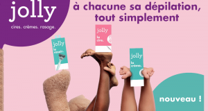 220 soins Jolly à tester (Bandes de cires - Rasoirs et Crèmes dépilatoires)