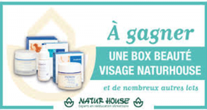 3 BOX Beauté de 3 produits Naturhouse offertes