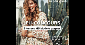 3 tenues Ms Mode (100 €) offertes