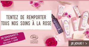 30 gammes de soins à la Rose Cosmos Organic offertes