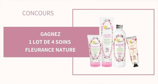 32 lots de 4 produits de soins Fleurance nature offerts