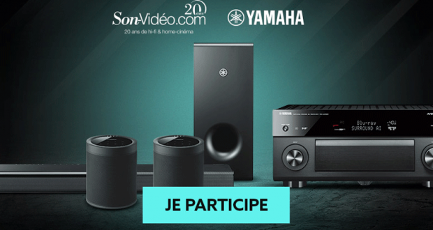 4 ensembles home-cinéma Yamaha offerts