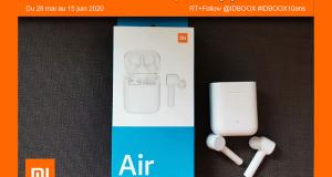 4 paires d'écouteurs sans fil Xiaomi offertes