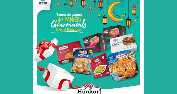 40 paniers de produits surgelés Hünkar offerts
