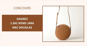 5 sacs à main rond JARA Mac Douglas offerts