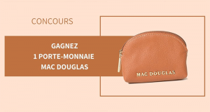 6 porte-monnaie Mac Douglas offerts