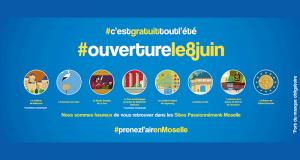 8 sites visitables gratuitement en Moselle tout l'été