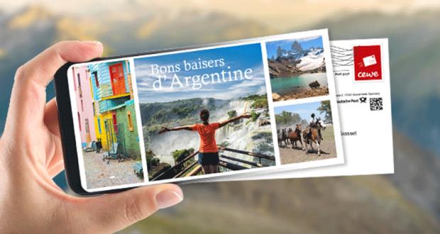 Cartes postales Cewe gratuites à envoyer à vos proches